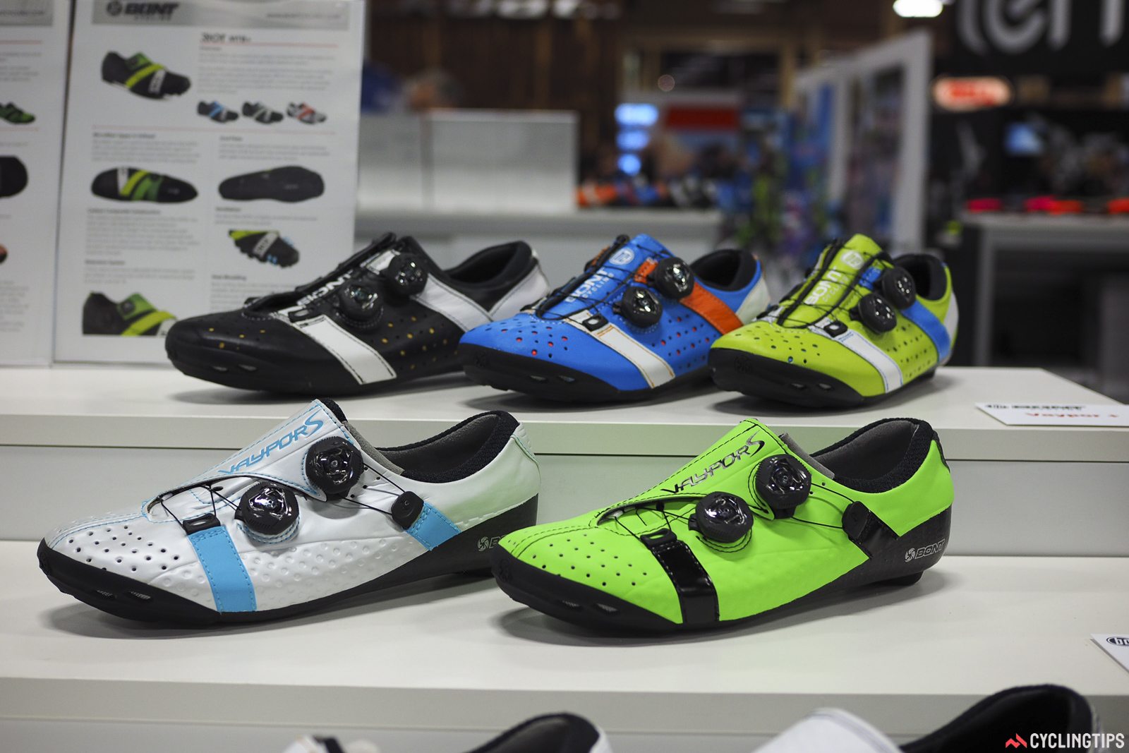 Bont certainly isn't afraid of adding some color to its footwear range.