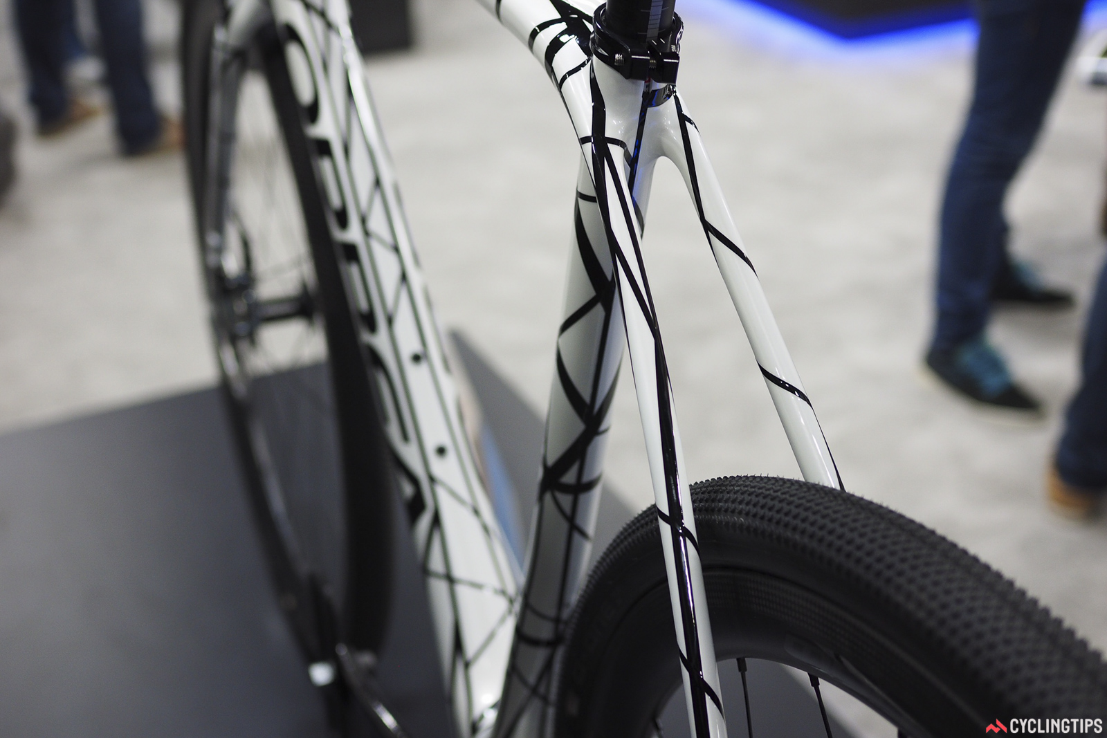 Official tire clearance on the new Orbea Terra is pegged at 40mm.