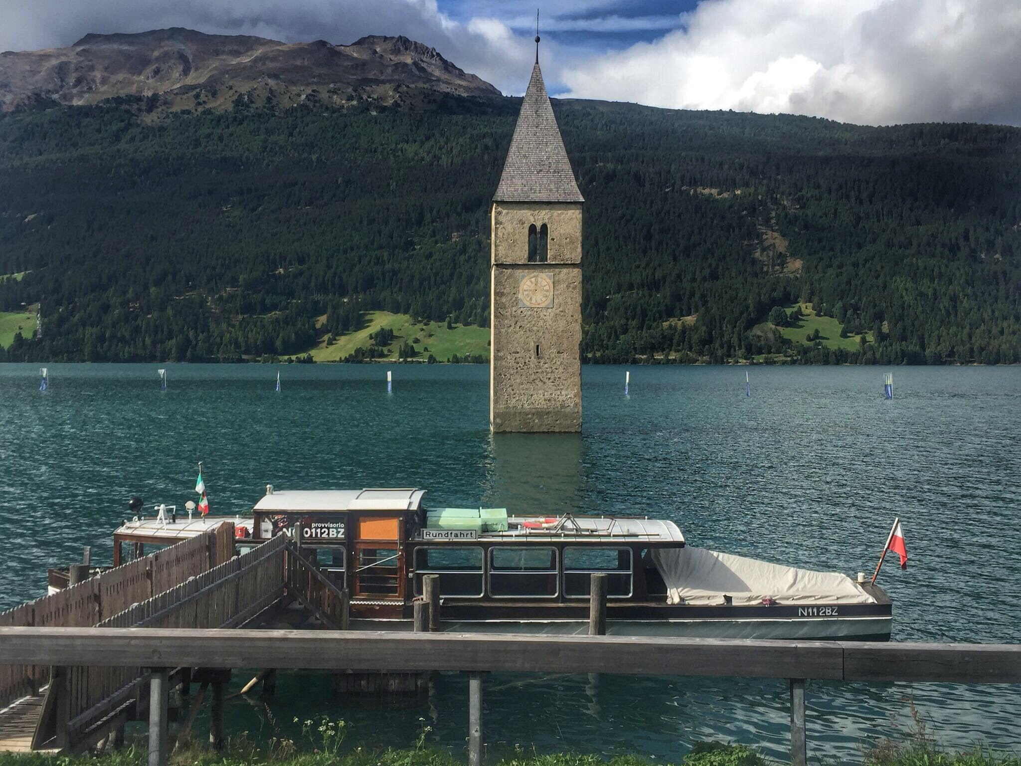 submerged tower