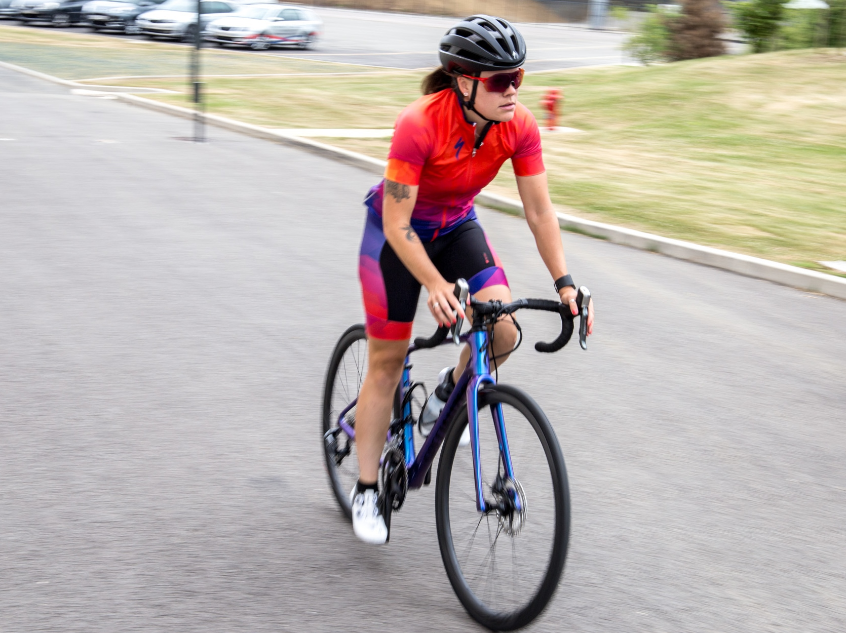 The Ruby handled like any performance bike should –she's fast, agile and snappy. It was truly a joy to ride.