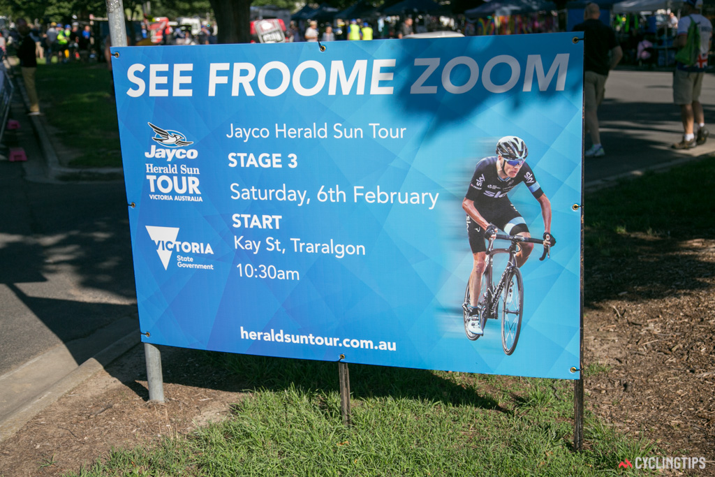 There was no mistaking who was the headline act at this year's Sun Tour.