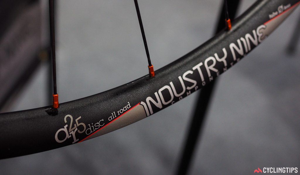 Industry Nine could certainly have brought the weight down on the new AR25 Disc All Road wheels by using a carbon rim, but the aluminum one is perhaps better suited for the higher levels of abuse such a wheel is likely to see. Plus, 1,440g is already plenty light.