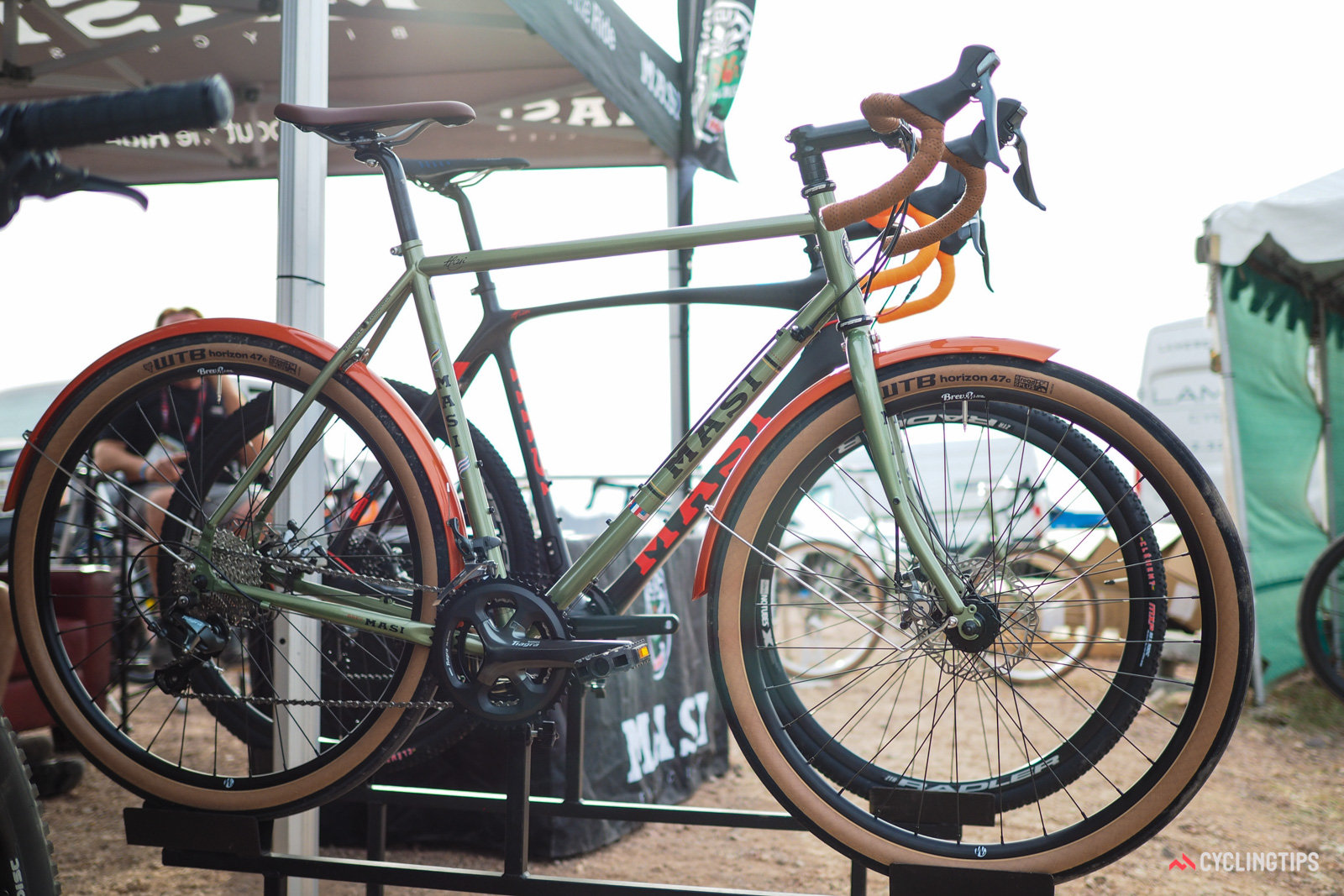 The Masi Speciale Randonneur returns for 2017, but this time with 650b wheels and WTB Horizon 47 tires as stock equipment instead of last year's 700c setup.