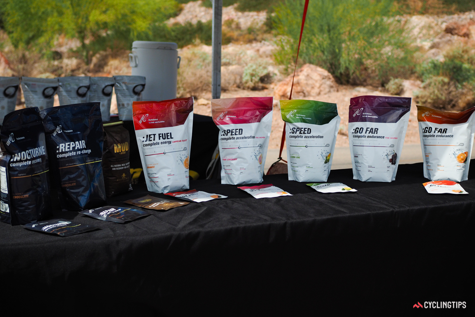Infinit Nutrition got its start with custom formulated exercise nutrition products (which the company still produces). For those whose needs aren't quite so particular, there are also ready-made products available off the shelf.