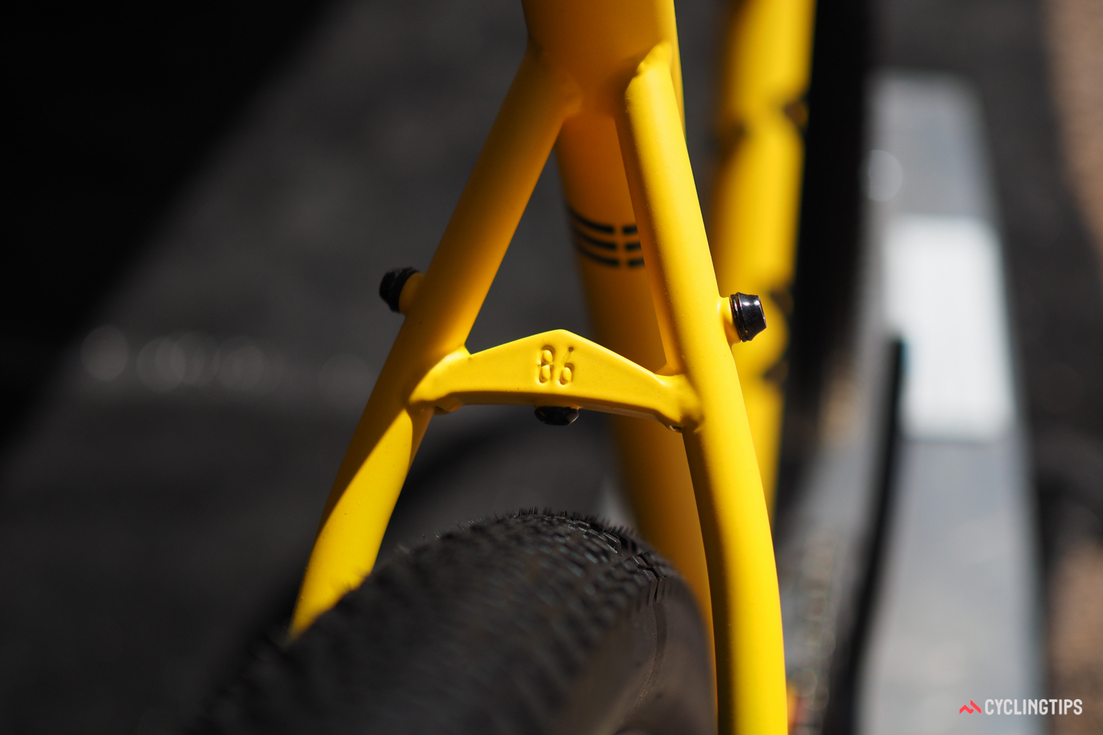 Marin may be a mass-produced bike company, but neat details like this are still very much appreciated.