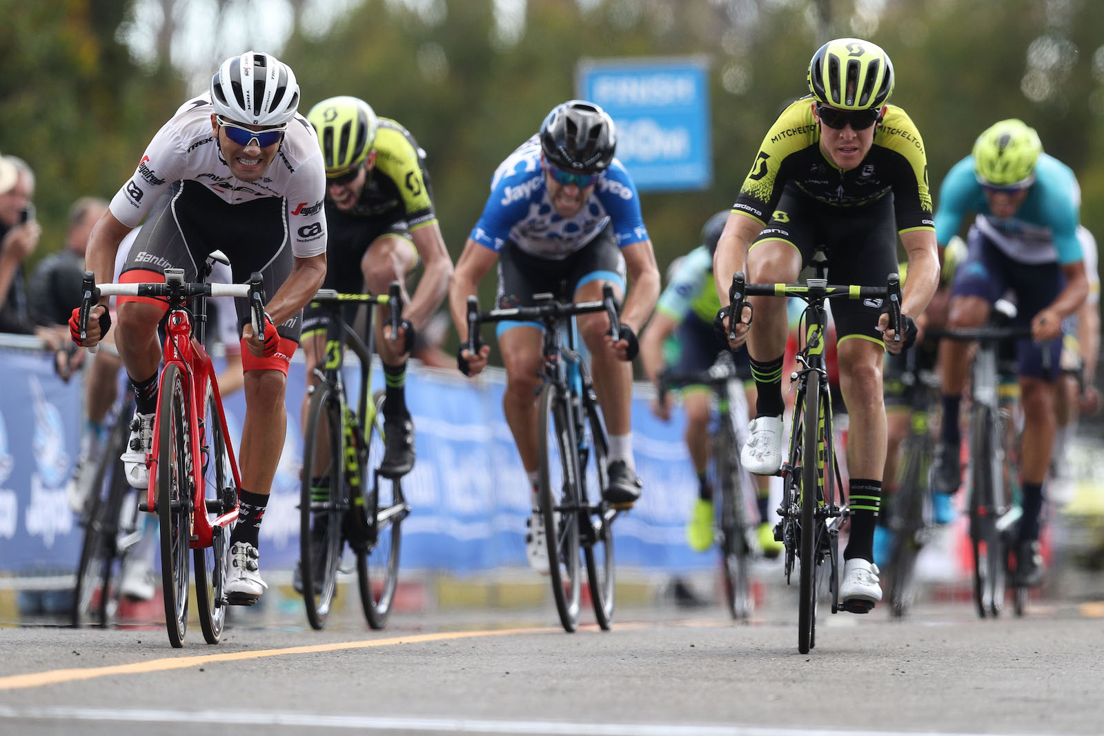 VICTORIA, AUSTRALIA - FEBRUARY 3:  Jayco Herald Sun Tour, stage 3, 218km road race from Mitchelton Winery, Nagambie to Lake Mountain, on February 3, 2018 in Victoria, Australia. (Photo by Con Chronis/Getty Images)
