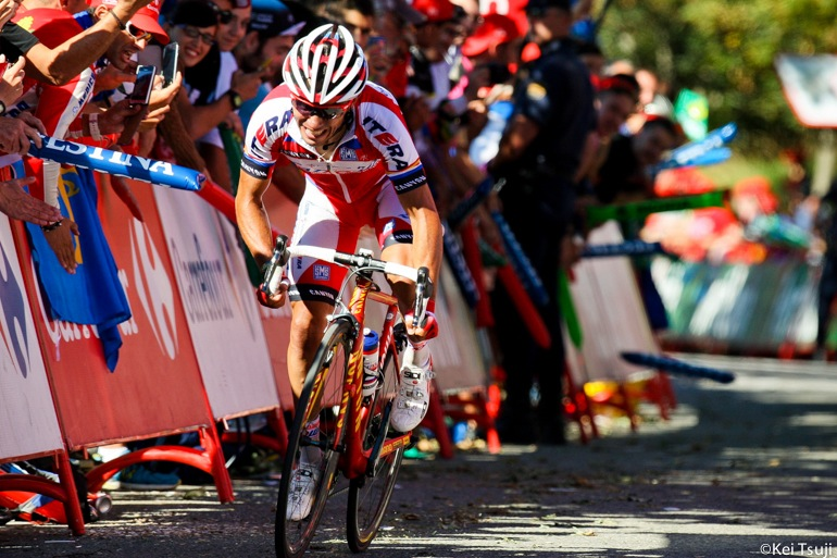 All of Katusha's efforts paid off and Rodriguez delivered the win.