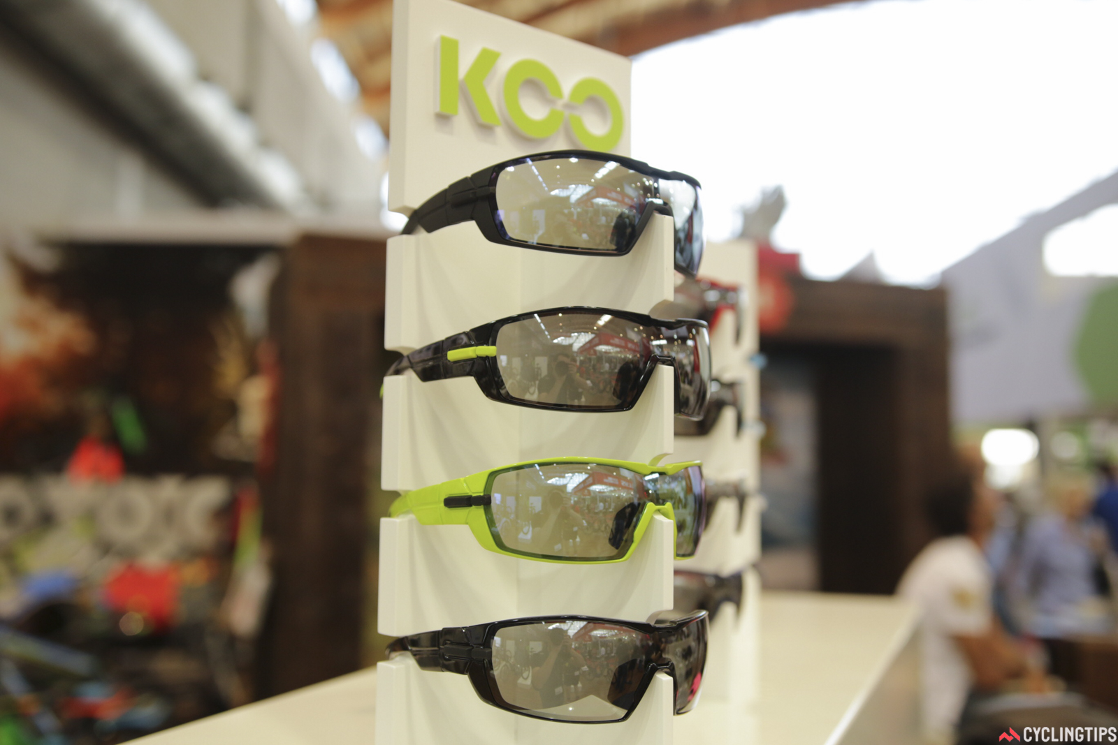 Made in Italy, Kask sunglasses are now just a month away. The arms fold in a unique swinging arc, allowing finite fitting options too. €199 and they'll include an extra lens and other pieces.