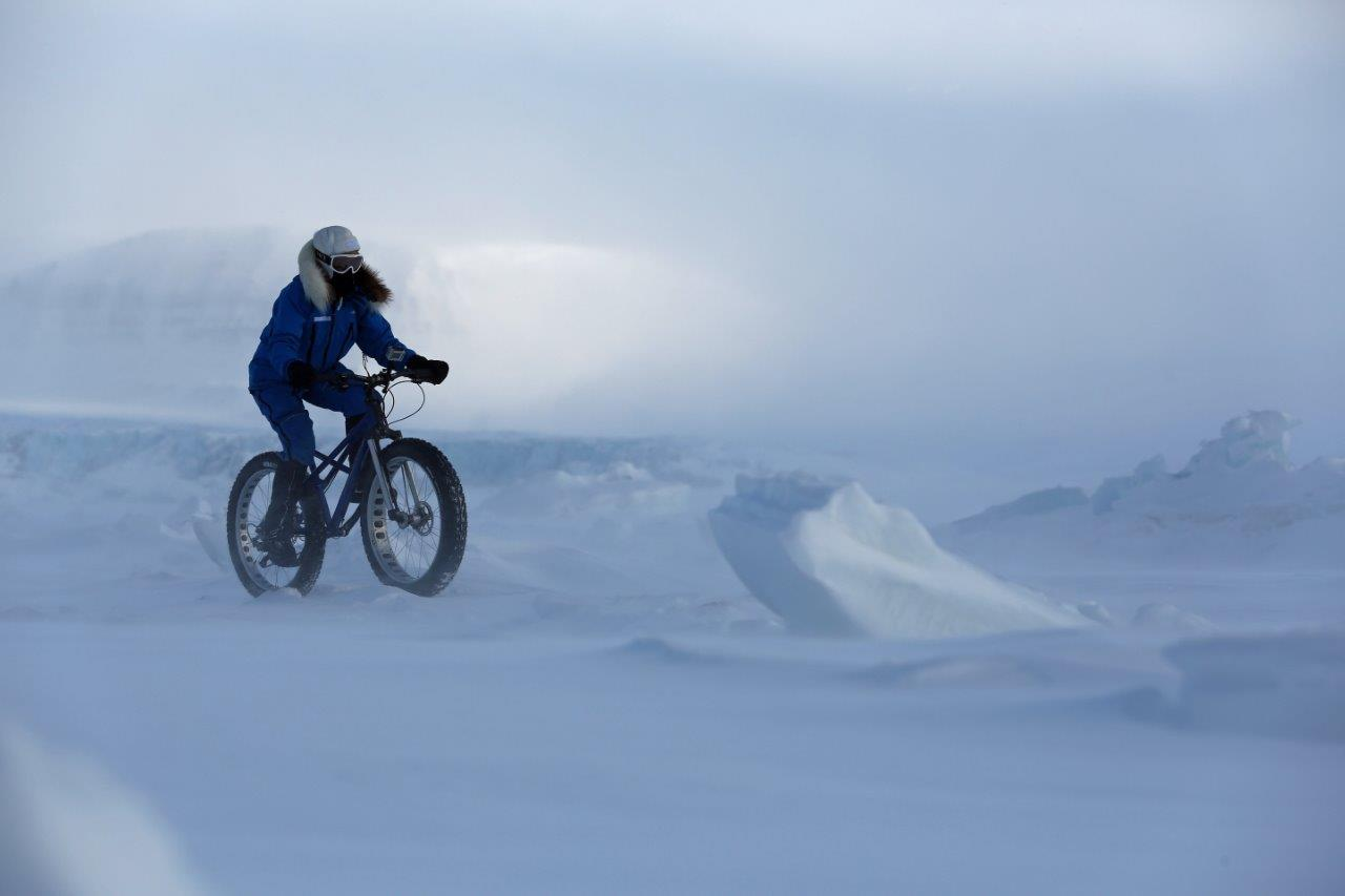 Kate Leeming Breaking The Cycle South Pole -R PhilCoates Training in pol...