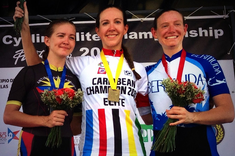Bertine recently took her second career Caribbean Championship gold medal, riding for Saint Kitts and Nevis