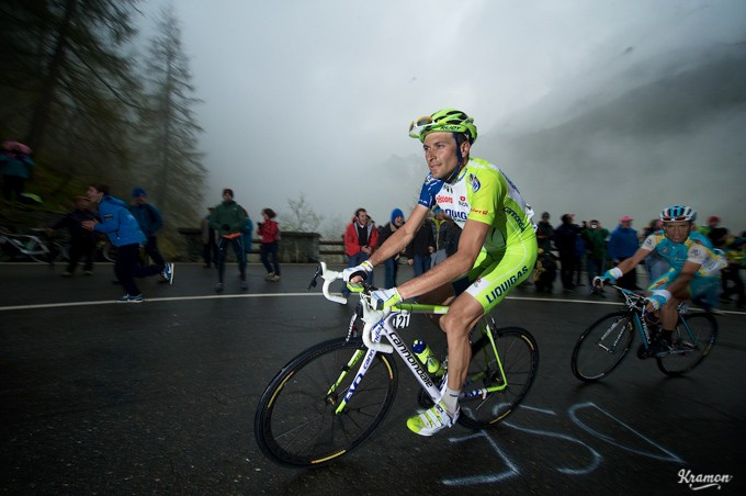 Ivan Basso not in his usual form this year.