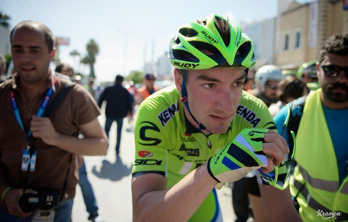 Just last week Elia Viviani beat the likes of Mark Cavendish in two sprint finishes at the Tour of Turkey.
