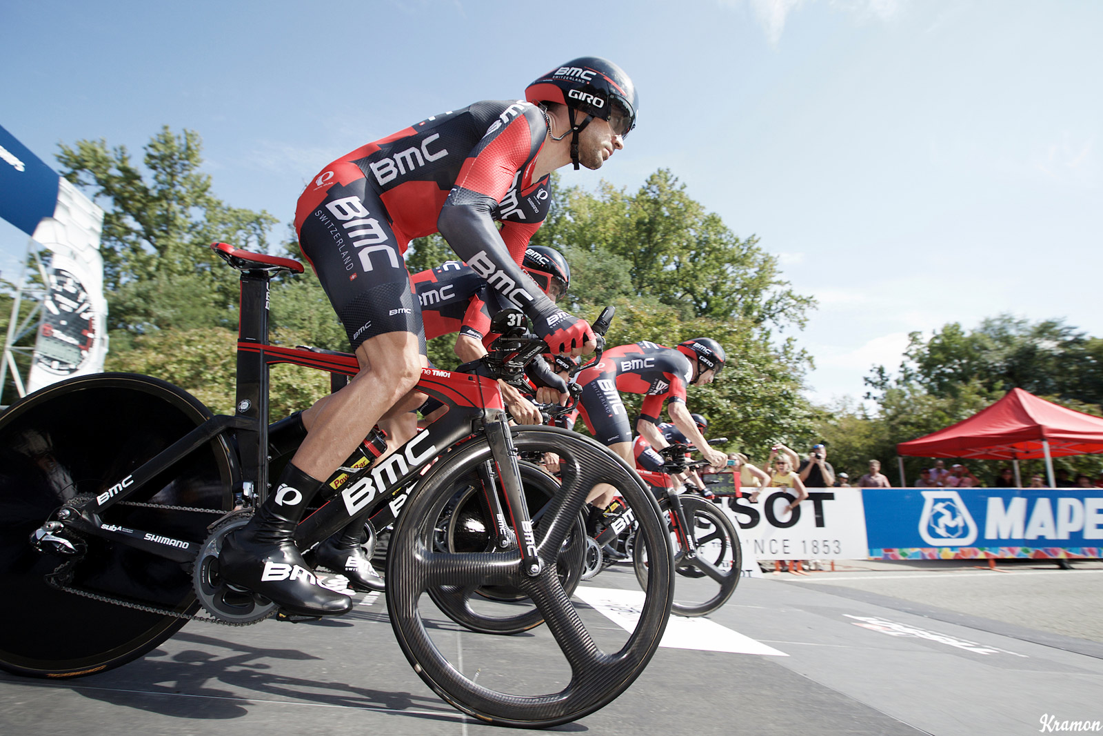 The BMC Racing Team successfully defended its 2014 title in Richmond.