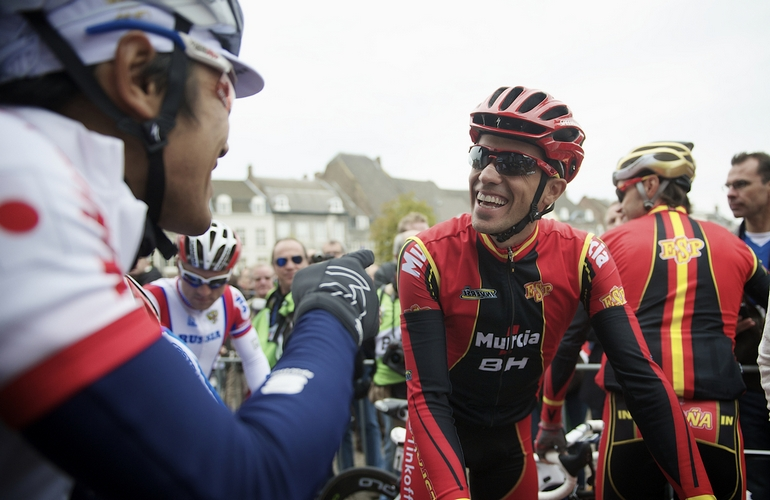 Contador will be cast in a support role in Sunday's race, riding for Valverde and Rodriguez.