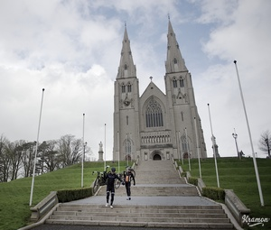 St. Patrick's Cathedral in Armagh where stage 3 of the Giro starts.