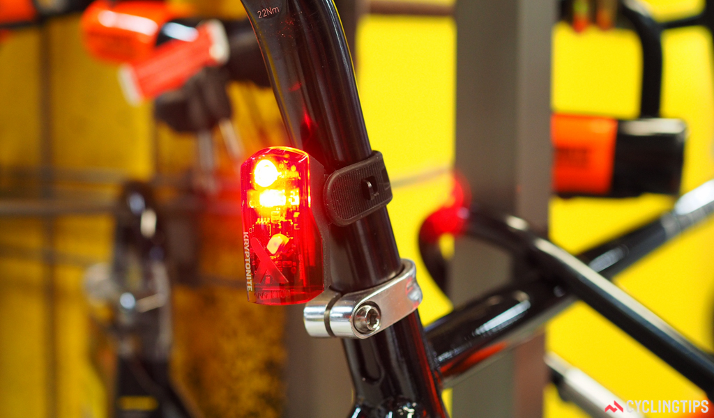 Kryptonite is expanding outside of bicycle security with a new line of front and rear lights.
