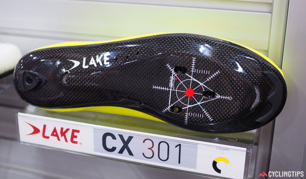 Lake builds the CX 301 with a dual-layer, hollow carbon fiber sole. The outer layer is made of stiffer carbon fibers for efficiency, but the inner layer acts as a carbon fiber lasting board, made of more pliable fibers that give a bit under pressure for what Lake says is for better all-day comfort.