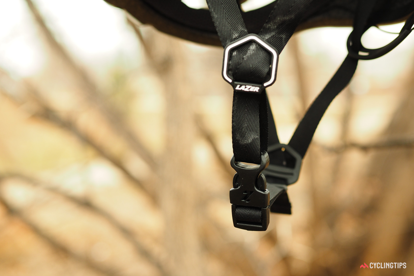 Lazer Bullet buckle and strap