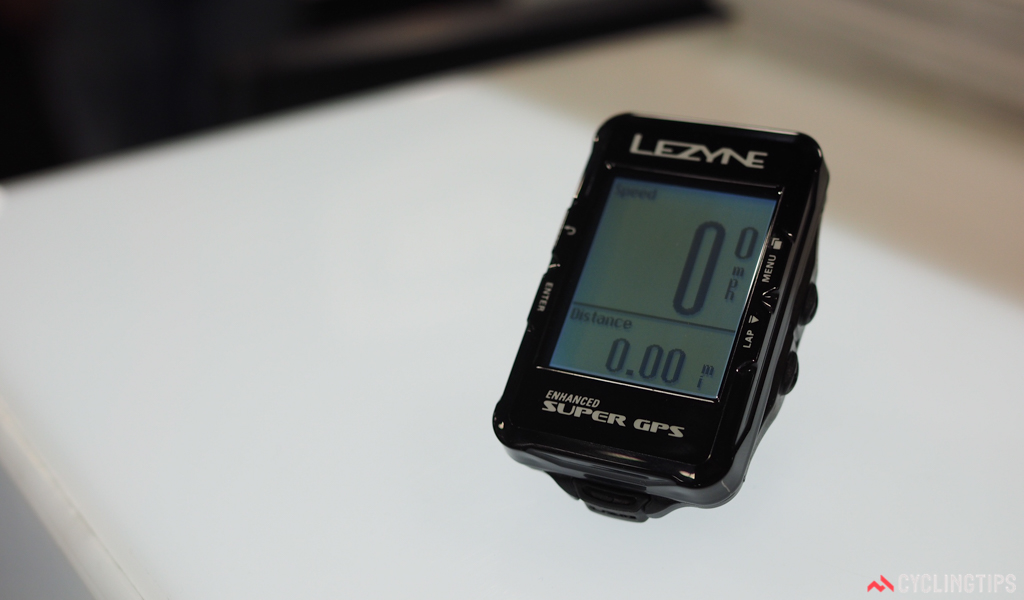 Lezyne's updated Super GPS computer features turn-by-turn navigation, automatic tracking alerts, both ANT+ and Bluetooth connectivity, smartphone alerts, and much, much more – all for the bargain basement price of just US$150.