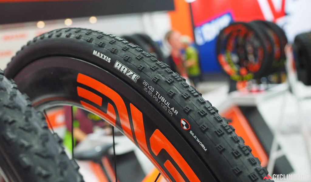 After several years of prototypes, the tubular version of Maxxis's Raze cyclocross tire is finally available to consumers.