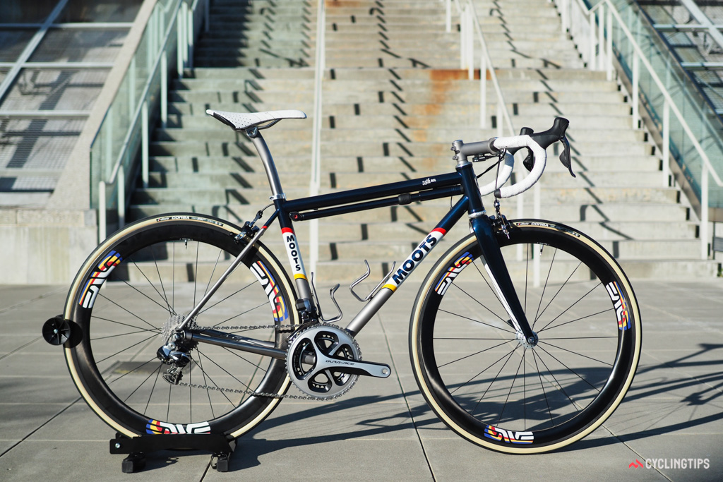 Moots is celebrating its 35th anniversary with this incredible limited-edition road bike.