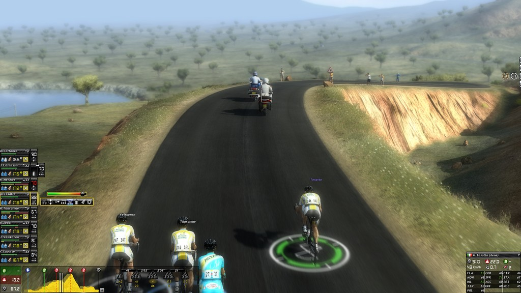 Nice scenery in the Tour of California.