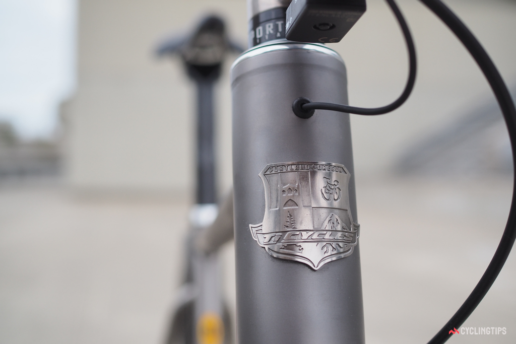There's just something about a proper head tube badge.