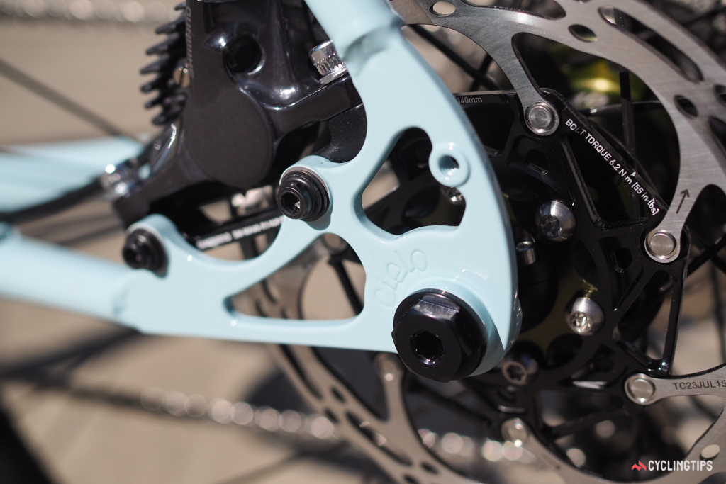 Nice detailing on the Cielo dropouts.
