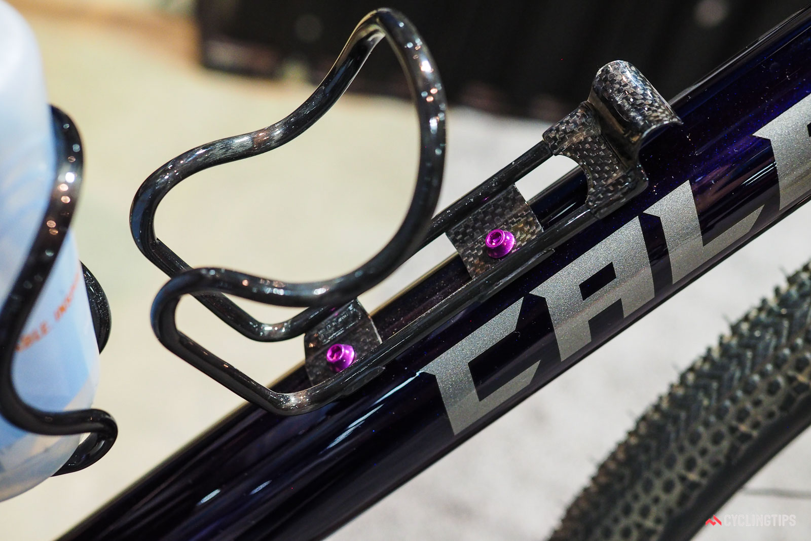 Calfee carbon water bottle cages