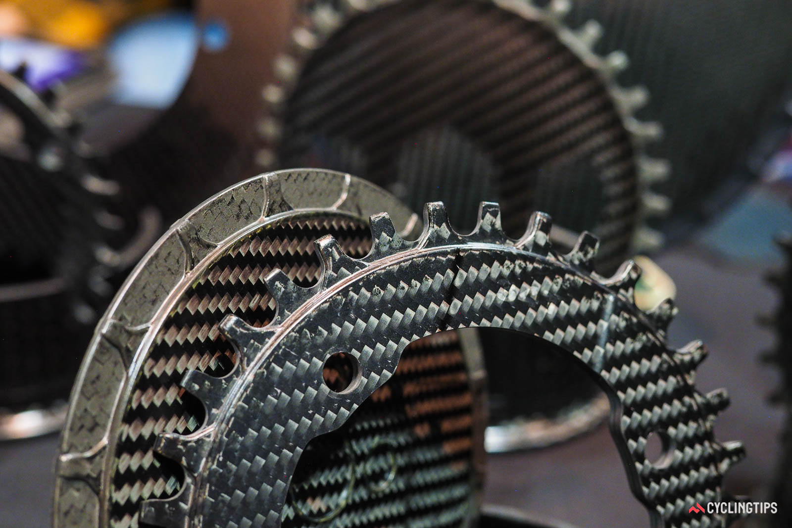 Clever Standard carbon chainrings