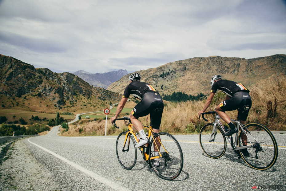 The back roads from Arrowtown to Queenstown.