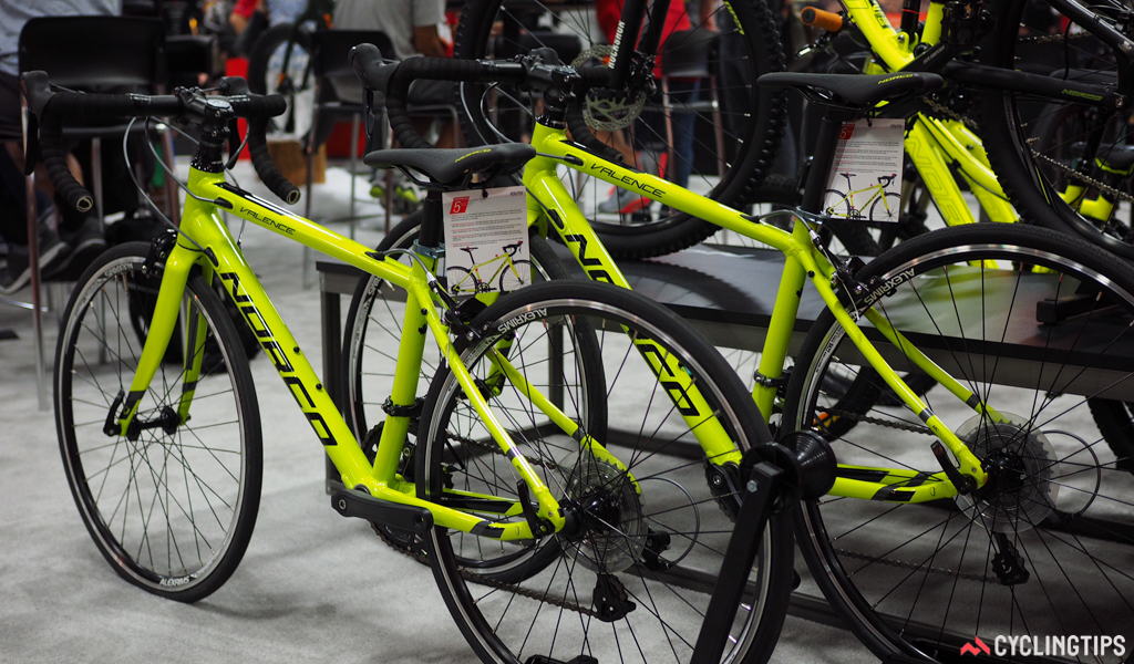 Norco has new junior-sized Valence road bikes available for up-and-coming roadies.