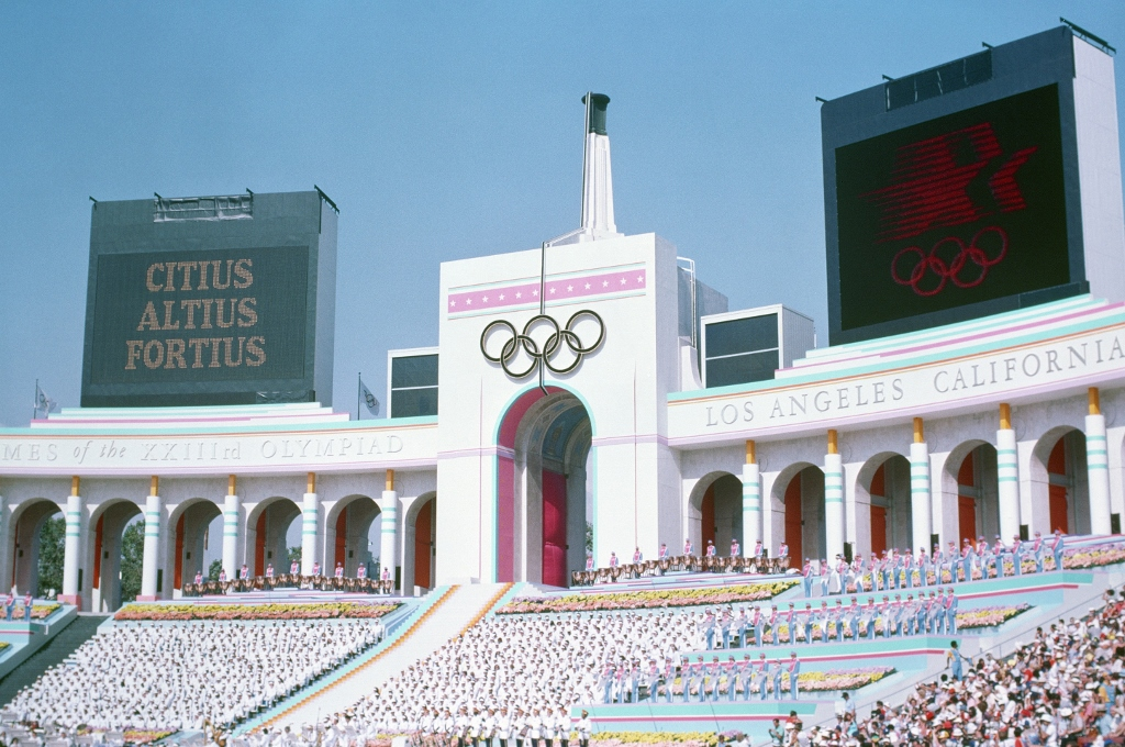 The 1984 Olympics in Los Angeles was the first time women competed in an Olympic cycling event.