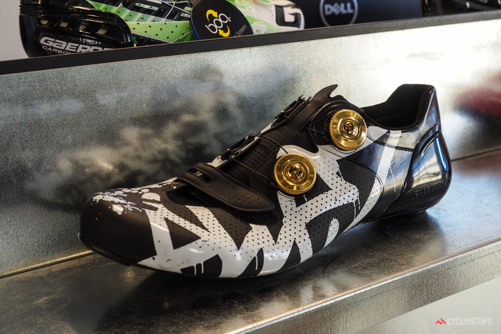 These Specialized S-Works shoes were made for none other than current world champion Peter Sagan.