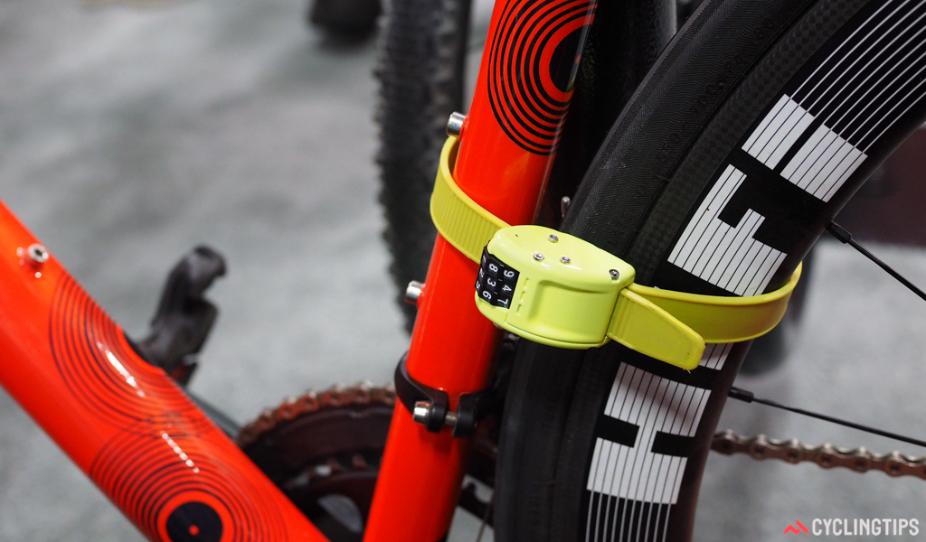 The Ottolock is really only meant for medium-duty security. Although the steel and Kevlar strap seems remarkably resistant to cutting, the three-tumbler combination lock would likely be the weak link. Even so, it could be a good option for quick stops, especially the shorter 18-inch version that easily fits in a jersey pocket.