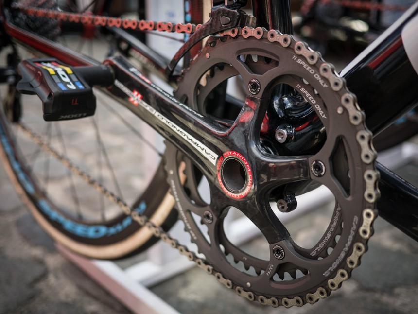 Campagnolo's new Super Record RS groupset on AG2R's Focus bikes