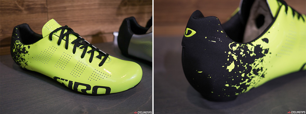 The yellow fluoro that we've seen over the past two years isn't going anywhere. Bright colours are here to stay.