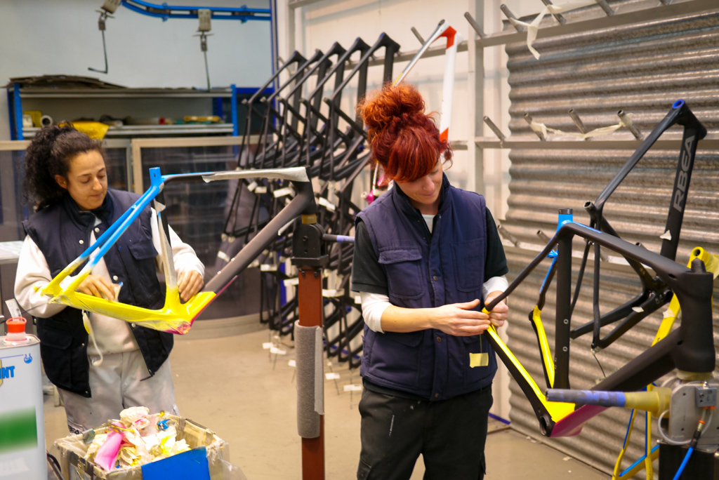 mainly women are employed to do the detailing and precise jobs. This seems a practice in many companies.
