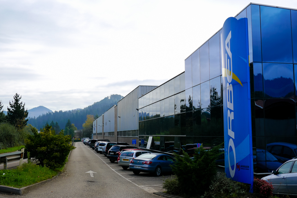 Based in the basque hills, the Orbea factory is perfectly placed for testing new bikes.