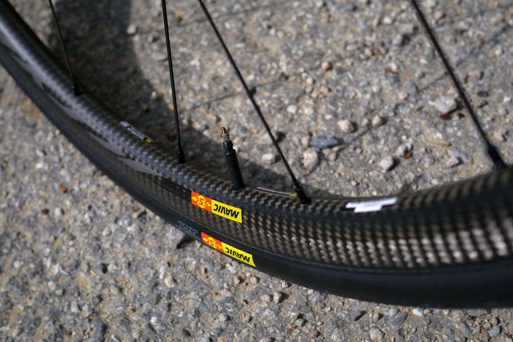 the Ksyrium Pro Carbon SL-C have a 25mm deep rim. Weight for the pair come in at  1390 grams.
