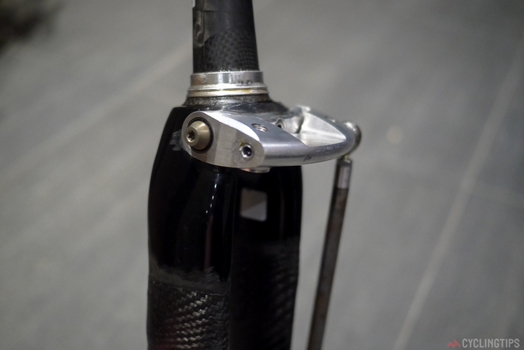 The top of the initial fork prototype.