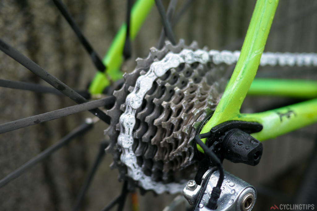 Many pros are using a 11-27 cassette.