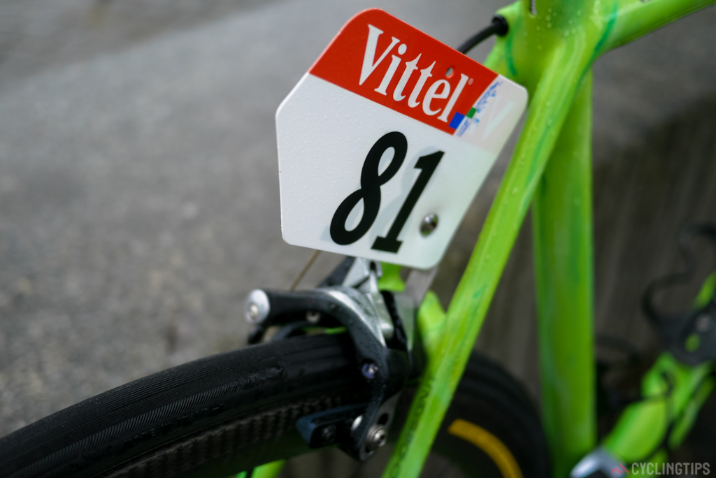 """Being team leader means the number """"1"""" race number."""