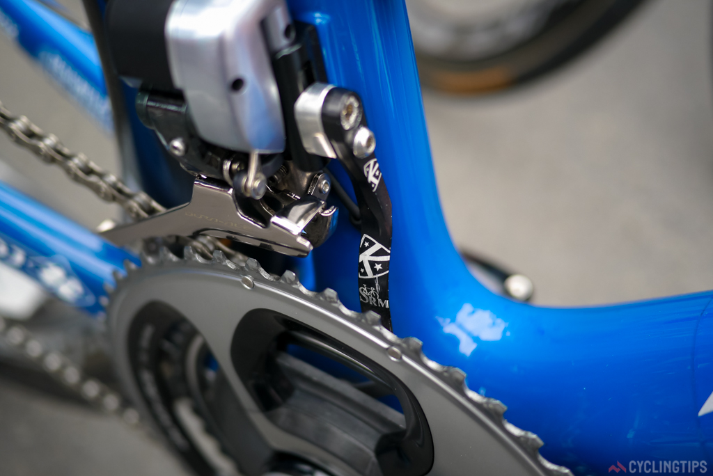 K-Edge supply the cusuom SRM engraved chain catcher.