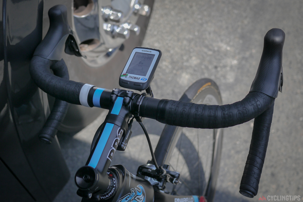 Bars and stem are from PRO, Shimano's in house component arm.