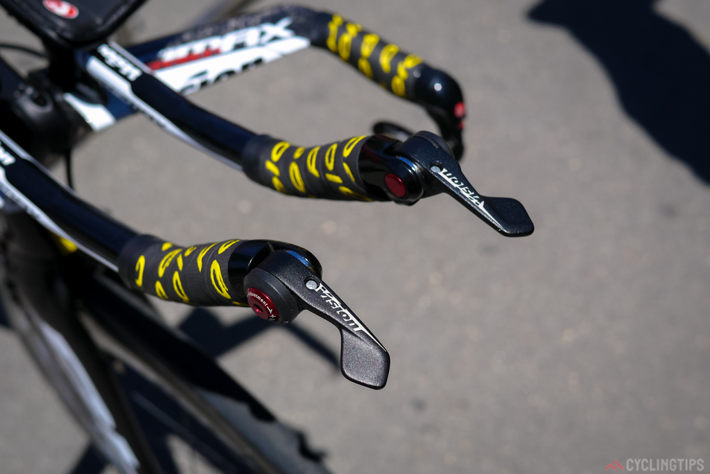 The Vision metron TT shifters.