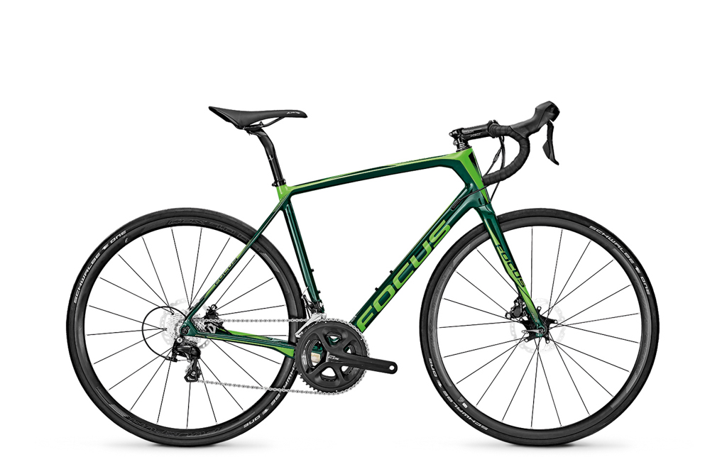 Retail price for the Shimano 105-equipped Focus Paralane is US$3,000 / AU$3,700 / £2,400 / €3,000. Photo: Focus Bicycles.