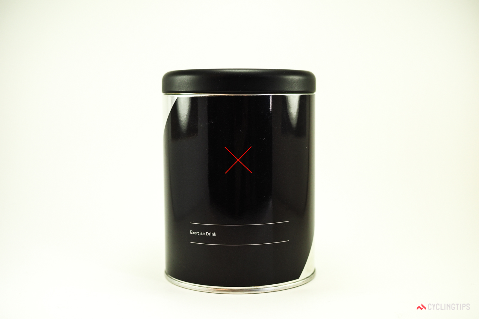 """The founders of Skratch/Secret Drink Mix paid a local design firm $10,000 for the initial """"X"""" logo. This tin design cost extra. Photo: James Huang."""