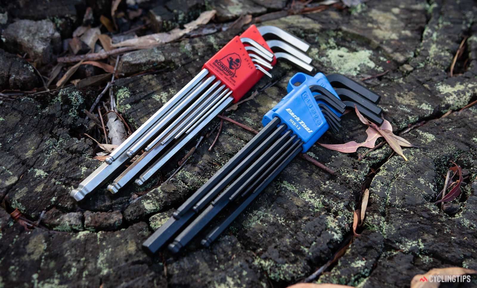 Park Tool hex is made by Bondhus