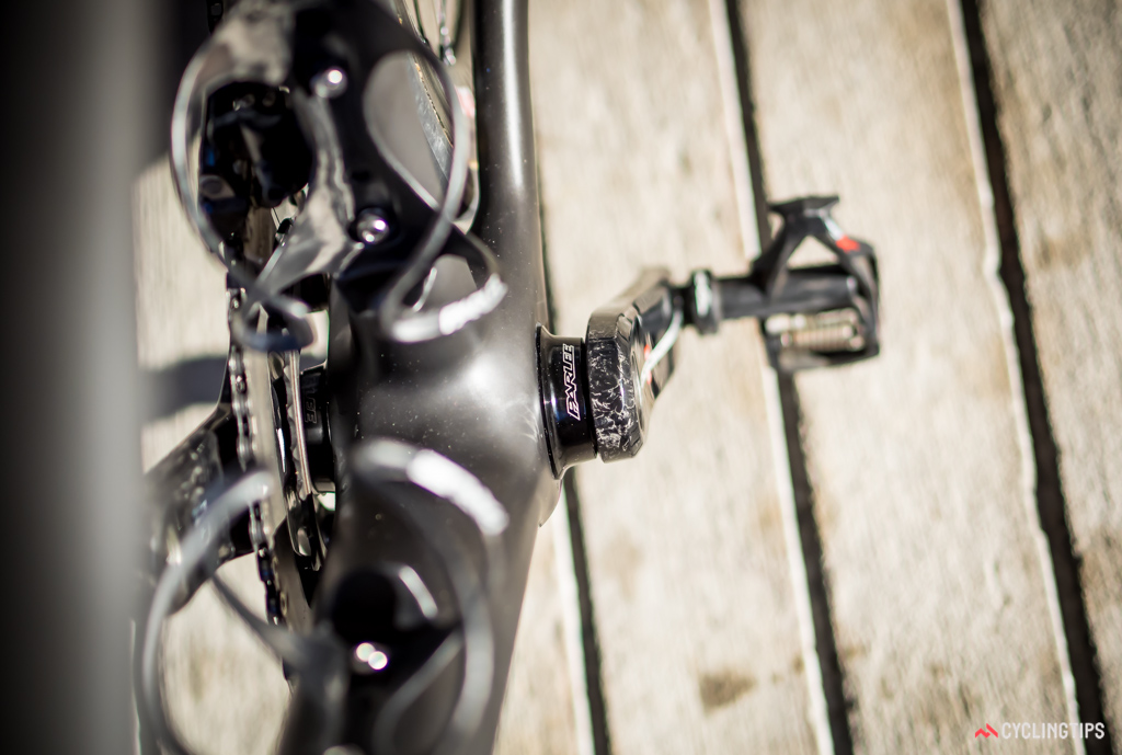 Parlee makes its own cups to suit Campagnolo Ultra Torque cranks.